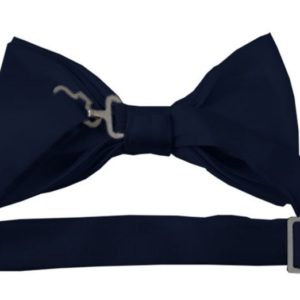 Bow Tie Navy back