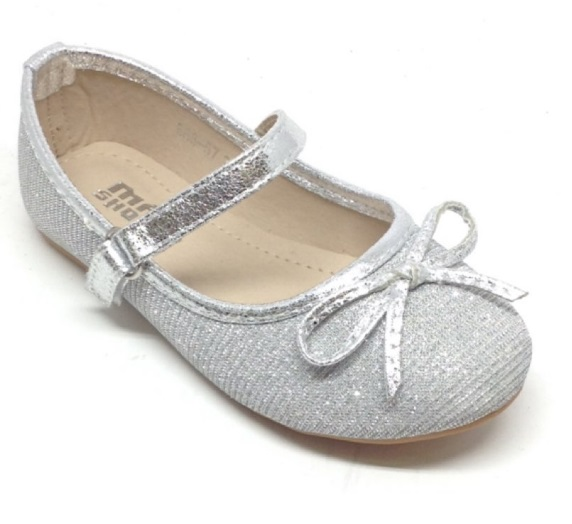 Classic style silver flat