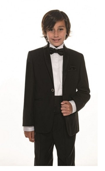 d14265bbece Boys Occasion Wear - Boy Black Tuxedo Set - | Jessica B.'s Bridal
