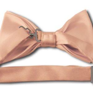 Light Salmon Bow Tie back