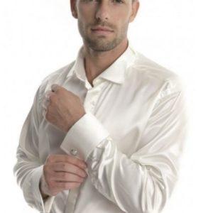 Black tie shirt